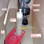 How to Replace a Toilet Fill Valve   Part 5How to Fix a Broken Toilet Flapper Valve and Lift chain. Chain For Toilet Flapper. Home Design Ideas